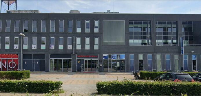 Het Wokstadion in Zwolle.