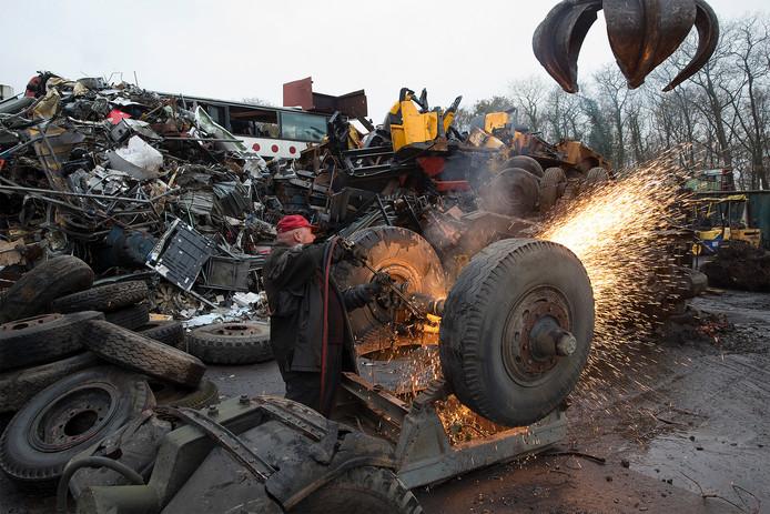 Recyclebedrijf Verhaegh Trading in Winterswijk .