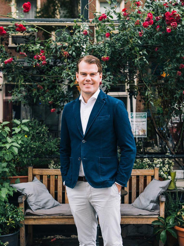 Simon van der Veer. Beeld Marcel Wogram / de Volkskrant