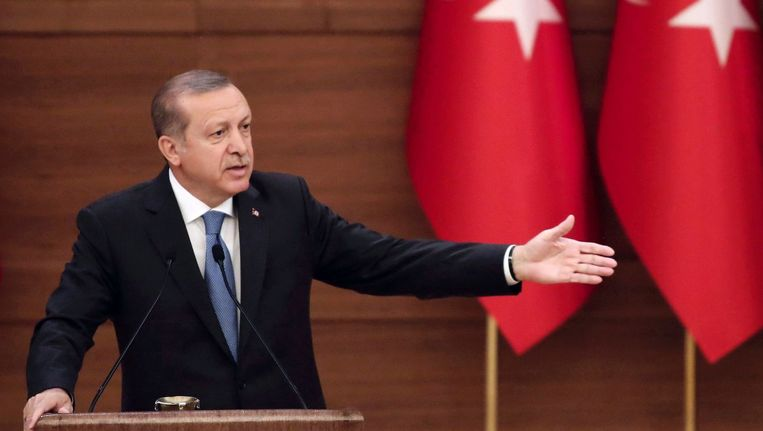 Recep Tayyip Erdogan. Beeld afp