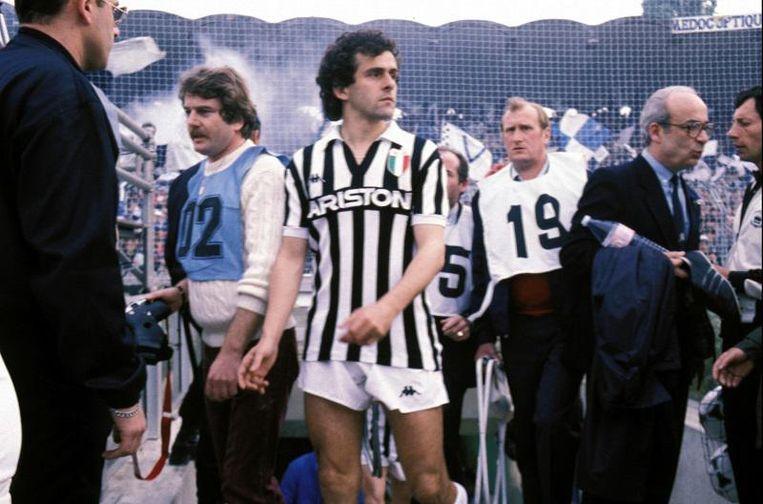 Platini in 1985.