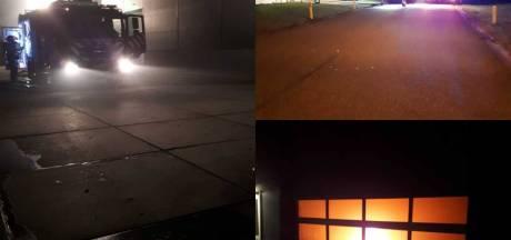 Inbraakmelding leidt politie naar brand in bedrijfspand Swifterbant