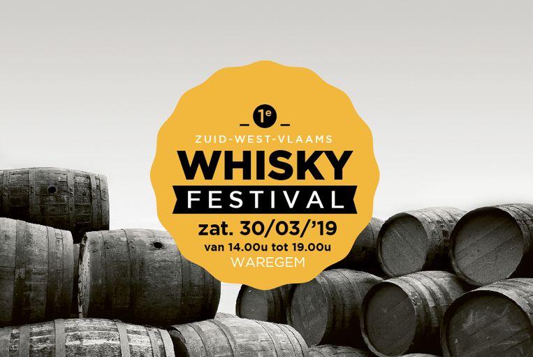 Oc 't Gaverke ontvangt het eerste Zuid-West-Vlaams Whiskyfestival