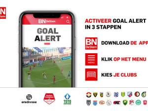 Direct (en gratis) de goals van NAC zien? Activeer Goal Alert in de BN DeStem-app!