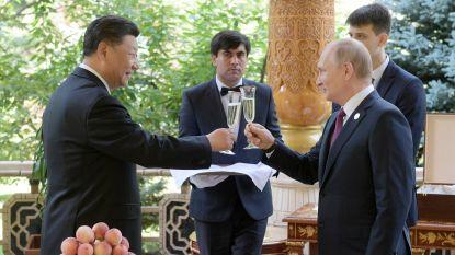 Chinese president krijgt Russische ijsjes als verjaardagscadeau van Poetin