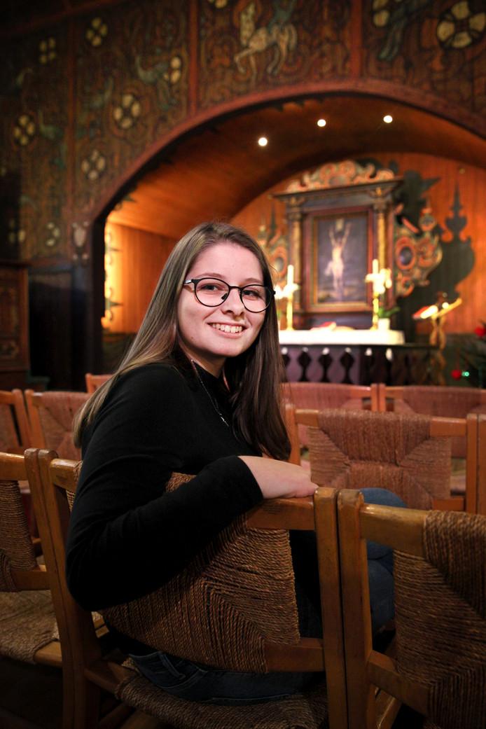 Voor Aleksandra Andersen is de Noorse Zeemanskerk aan de Westzeedijk haar nieuwe thuis.