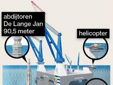 Aanval op gevestigde orde: Zeeuwen bouwen grootste kraanschip ter wereld