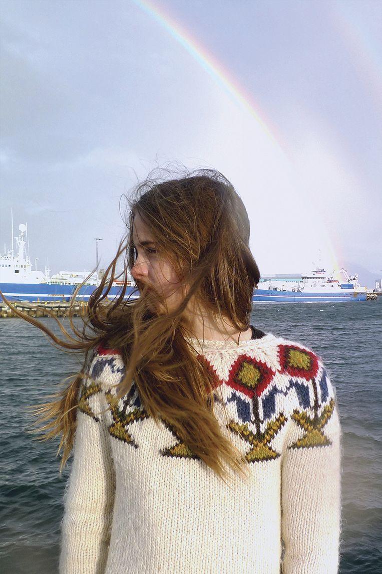 Emilía Magnúsdóttir: 'Mijn moeder draagt deze trui ook.' Beeld Willemijne van Zelst en Esmee van Loon