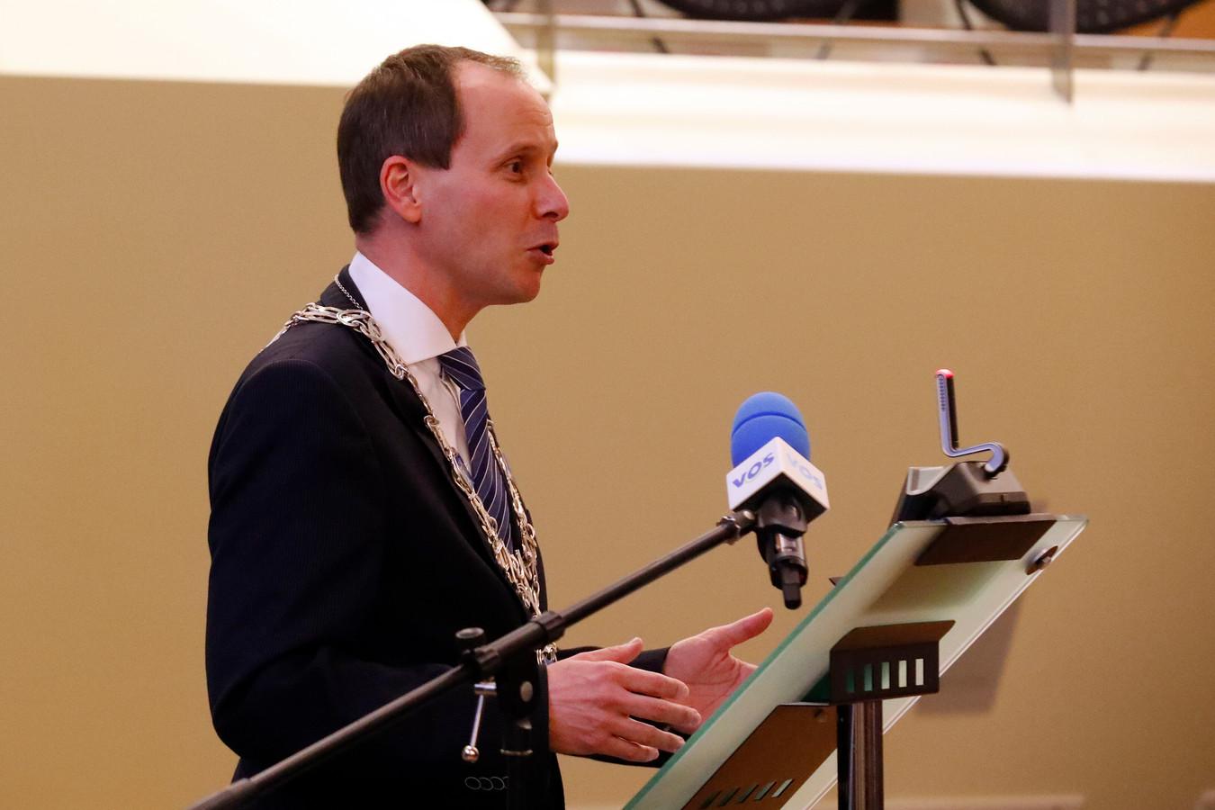 Burgemeester Ederveen van Valkenswaard (archieffoto).