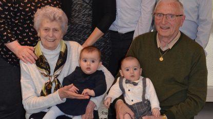"""Familie Struyvelt trots op dubbel viergeslacht: """"Jammer dat we elkaar nu moeten missen"""""""