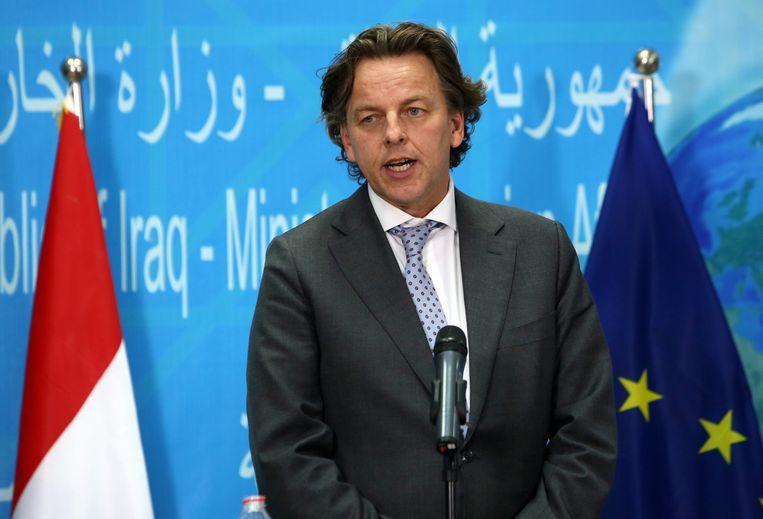 Minister Bert Koenders van Buitenlandse Zaken. Beeld EPA