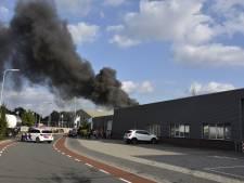 Zeer grote brand bij Allure Verlichting in Wierden
