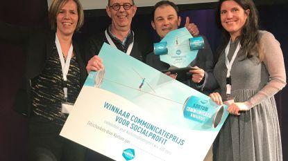Ostenders van AZ Damiaan bekroond met een Kortom Award