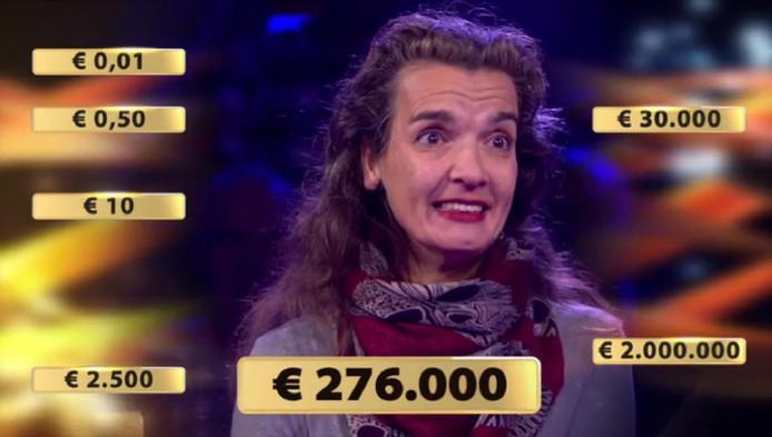 Marja twijfelt: doorspelen of naar huis gaan met 276.000 euro?