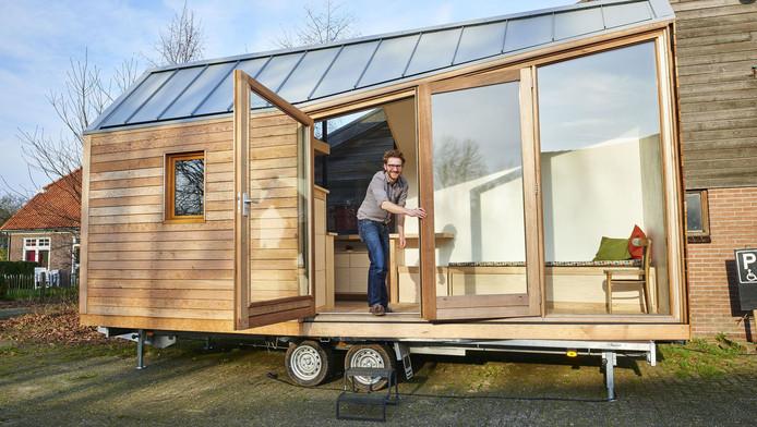 De grote potentie van piepkleine huisjes economie for Tiny house movement nederland