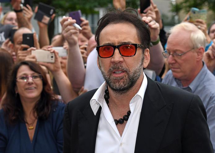 Nicolas Cage in 2016.