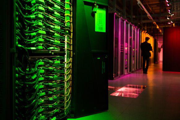 Een supercomputer in Zwitserland.