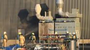Afzuiginstallatie naast werkatelier van Bilfinger ROB vat vuur
