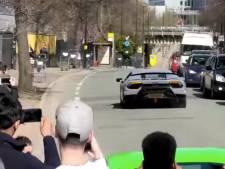 Opschepperij met snelle Lamborghini eindigt in crash
