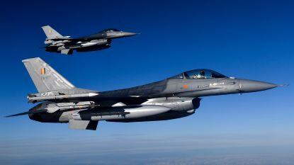 Belgische F-16's onderscheppen Russische straaljagers in Baltische regio