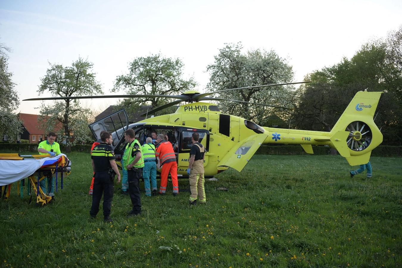Fietser ernstig gewond bij ongeluk in Eindhoven.