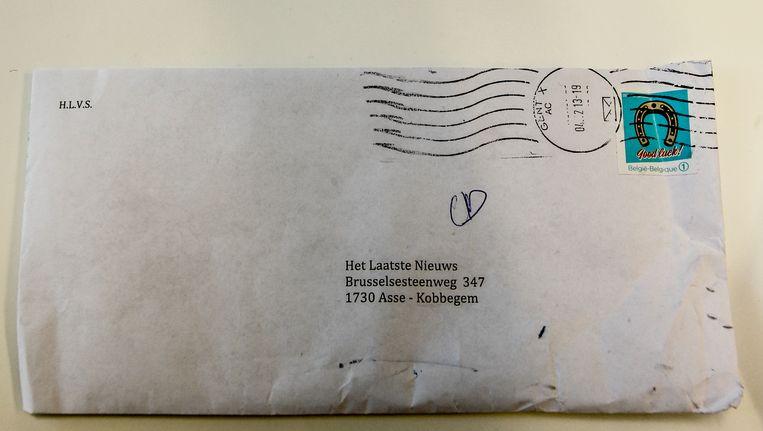Onze redactie kreeg eind vorig jaar een dreigbrief voor N-VA-voorzitter Bart De Wever in de bus.