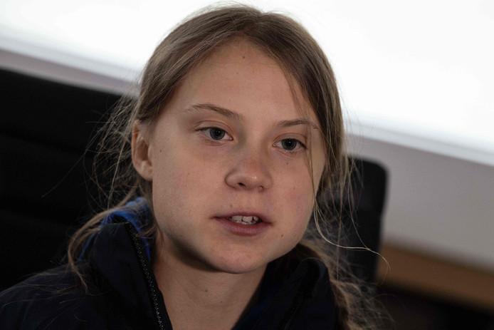 La jeune activiste suédoise Greta Thunberg.