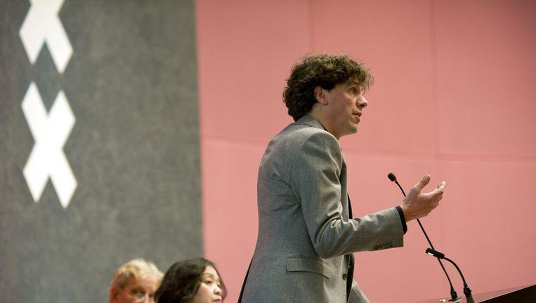 Wethouder Pieter Hilhorst Beeld anp