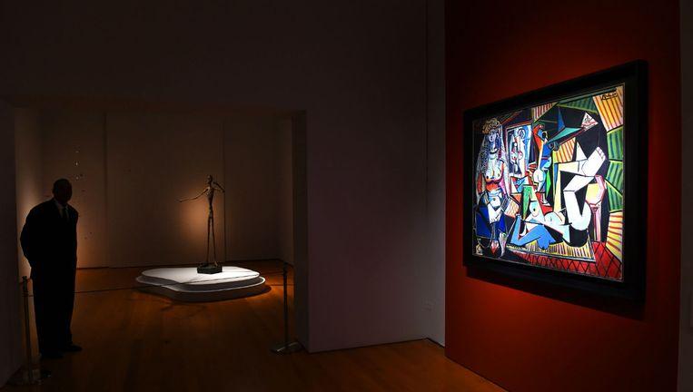 Les Femmes d'Alger van Picasso, sinds deze week het duurste werk ooit verkocht op een veiling Beeld anp