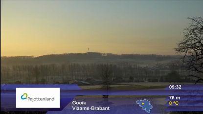 Het Pajottenland pronkt tussen ski-oorden op nationale televisie