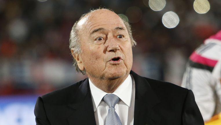 Sepp Blatter. Beeld ap