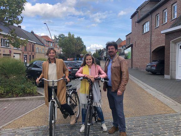 Open Vld Plus wil meer inwoners op de fiets in Oosterzele.