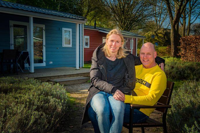 Pim Meijkamp en zijn vrouw Denise Lösing.