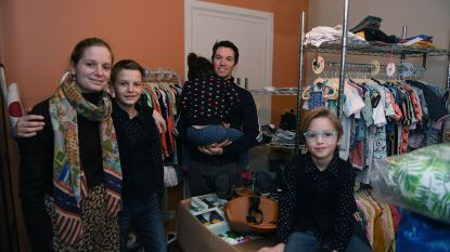 Herents gezin opent samen kinderwinkel om speelgoed en kledij een tweede leven te geven