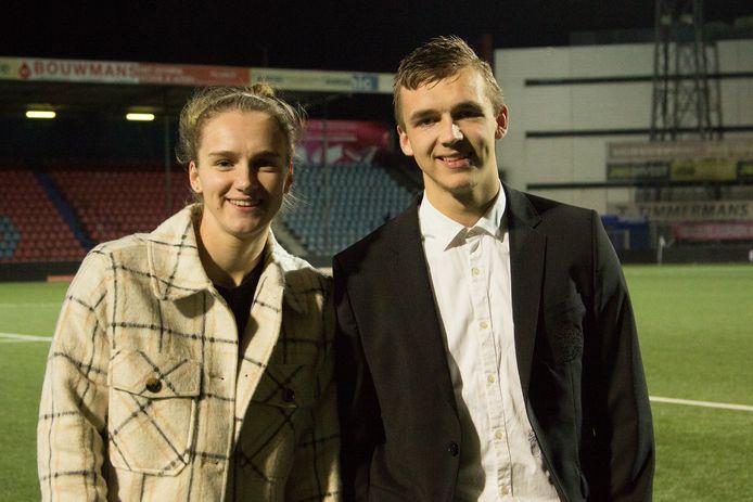 Vivianne en Lars Miedema.