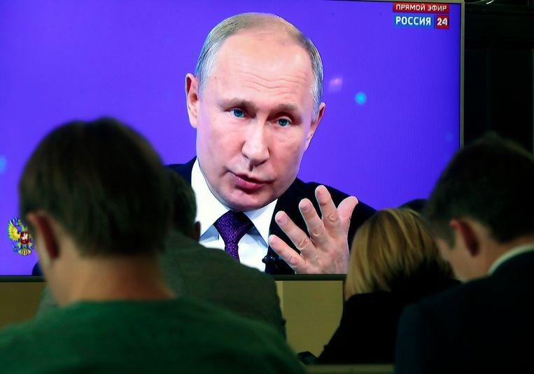 De Russen stuurden zowat 2 miljoen vragen om aan de president voor te leggen.