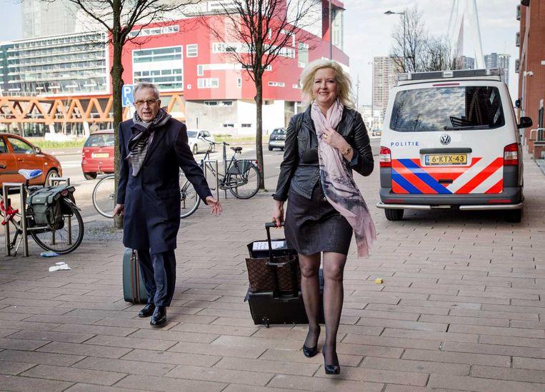 Van Rey op weg naar de rechtbank Beeld anp