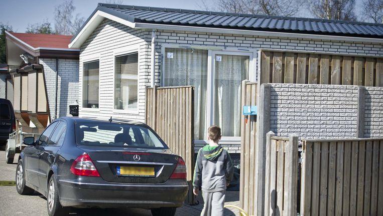 Woonwagenkamp in Sint-Michielsgestel Beeld anp