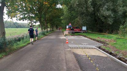 Werken rond provinciedomein De Gavers verhogen veiligheid voor fietsers