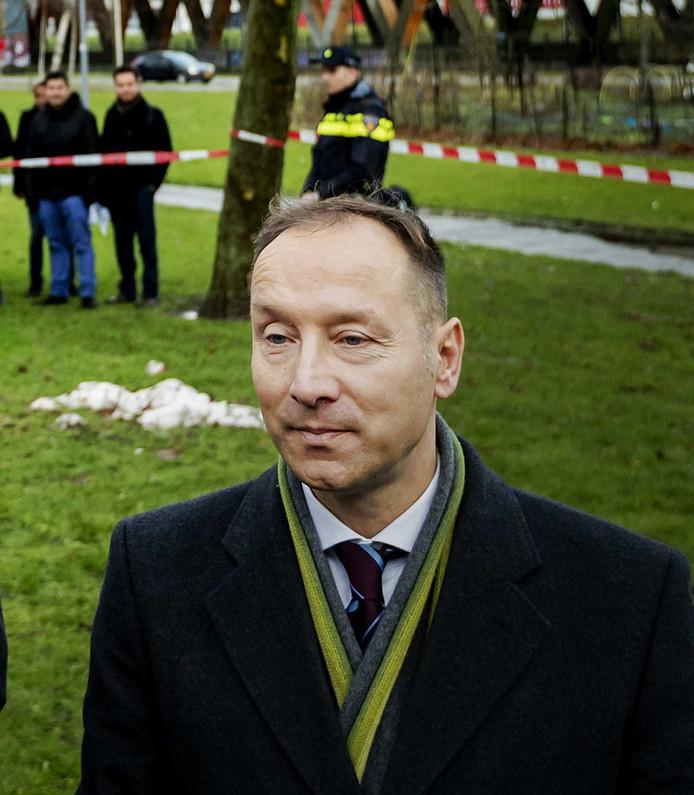 Géza Hegedüs werd gisteren gepresenteerd als lijsttrekker namens de PVV in Rotterdam.