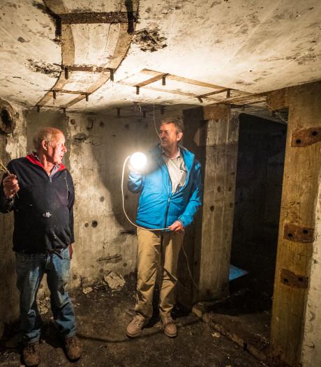 Spinrag en verhalen vullen oude bunkers Hattem die anders nooit opengaan voor publiek