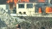 VIDEO. Kajuit van vrachtschip brandt volledig uit