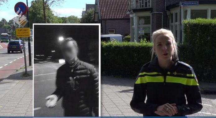 Beeld uit de video van de politie.