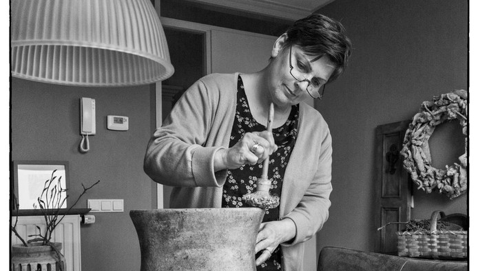 Gerda de Jong is een zwevende kiezer.