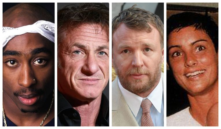 2pac, Sean Penn, Guy Ritchie en Ingrid Casares