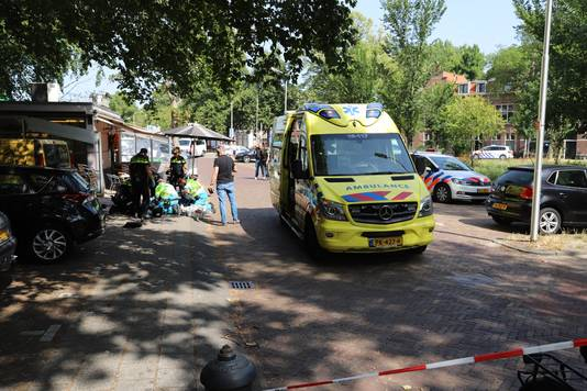 Schietpartij in het Kalverbos in Delft.