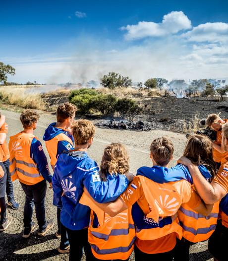 Emie uit Zieuwent ziet zonneauto in vlammen opgaan: 'Niet te beschrijven wat er door me heen ging'