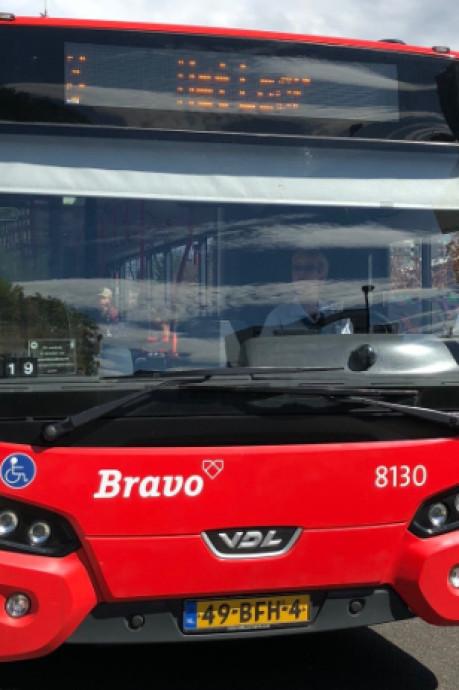 Nog geen veilige looproute naar Halsterse bushaltes in zicht
