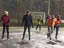 Schaatsers staan in Wierden op eerste plaats, de ijsbaan is weer open