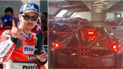 Drievoudig wereldkampioen MotoGP Jorge Lorenzo pronkt met zeldzame wagen,  prijskaartje? 3,2 (!) miljoen euro